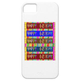 HAPPY Birthday HappyBirthday : Artistic Script iPhone 5 Cover