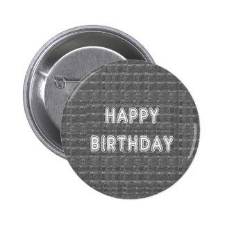 HAPPY Birthday HappyBirthday Artistist background Pinback Button