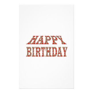 HAPPY BIRTHDAY HappyBIRTHDAY Colorful LOWPRICES Stationery