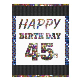 happy birthday happybirthday  designs letterhead