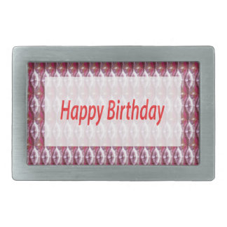 HAPPY Birthday HappyBirthday Gifts Greetings FUN Rectangular Belt Buckles