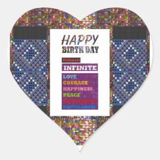 Happy Birthday HappyBirthday Greetings Gifts Heart Sticker