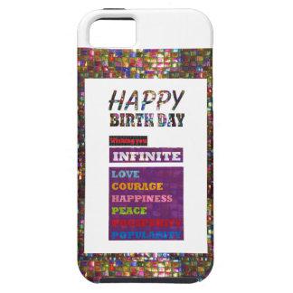Happy Birthday HappyBirthday Greetings Gifts iPhone SE/5/5s Case