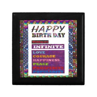 Happy Birthday HappyBirthday Greetings Gifts Keepsake Box