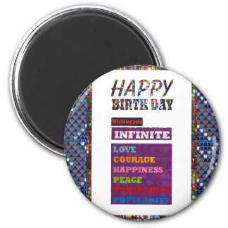 Happy Birthday HappyBirthday Greetings Gifts Magnet
