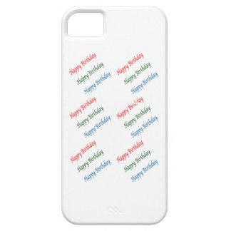 HAPPY BIRTHDAY HappyBirthday Script Colorful Light iPhone 5 Covers