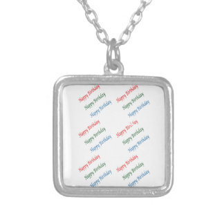 HAPPY BIRTHDAY HappyBirthday Script Colorful Light Jewelry
