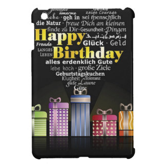 Happy Birthday Heart Cover For The iPad Mini