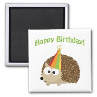 Happy Birthday! Hedgehog Magnet