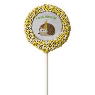 Happy Birthday! Hedgehog Chocolate Covered Oreo