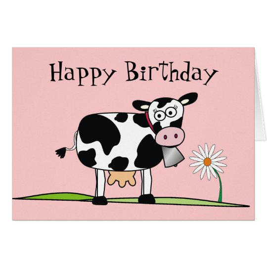 Happy Birthday_Here is some MOO-LAH Card