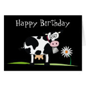 Happy Birthday_Here is some MOO-LAH Greeting Card