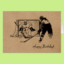 Happy Birthday! Hockey Card - Female