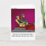"""Happy Birthday Humor Greeting  Card for Him<br><div class=""""desc"""">PANDEMONIUM Enjoy spreading the laughter with these hilarious cartoons by artist Bill Abbott,  send some humor to someone special with a greeting card Pandemonium style</div>"""