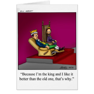 Happy Birthday Humor Greeting  Card for Him