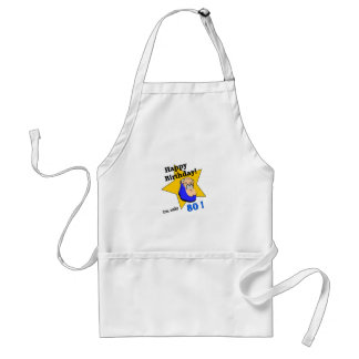 Happy Birthday - I'm ONLY 80.png Adult Apron