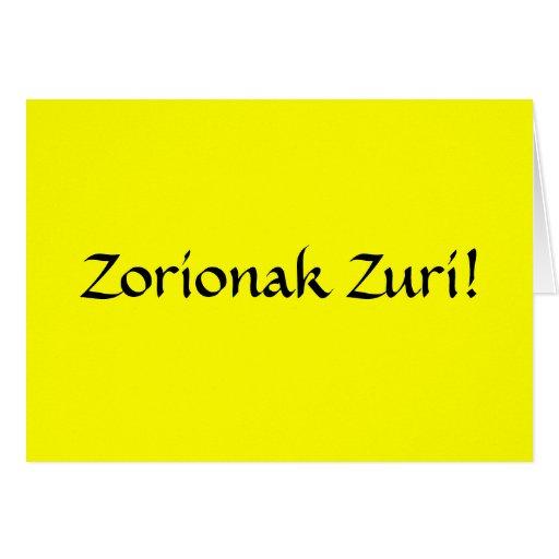 Happy birthday in basque greeting cards zazzle