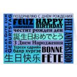 Happy Birthday International Style Card