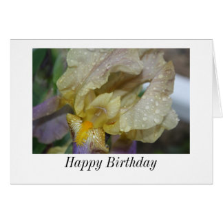 Happy Birthday Iris Card