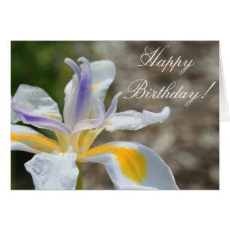 Happy Birthday Iris Greeting card