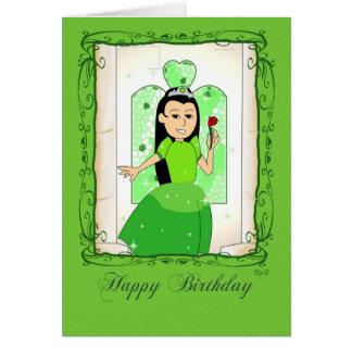 Happy Birthday: Jade Princess Card