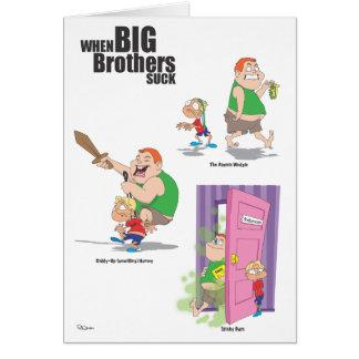 Happy Birthday (Jerk) Brother Card