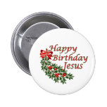 Happy Birthday Jesus 2 Inch Round Button