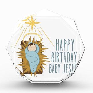 Happy Birthday Jesus Acrylic Award