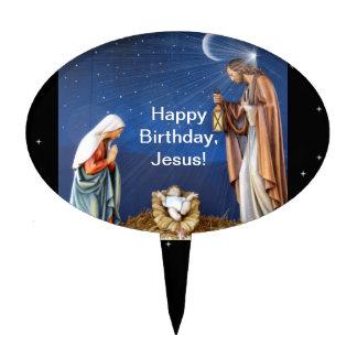 Happy Birthday, Jesus! Cake Topper