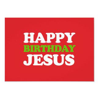 Happy Birthday Jesus Card