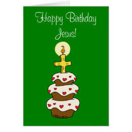 Happy birthday jesus cards greeting photo cards zazzle happy birthday jesus card bookmarktalkfo Gallery