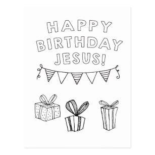 Religious Birthday Postcards - No Minimum Quantity | Zazzle