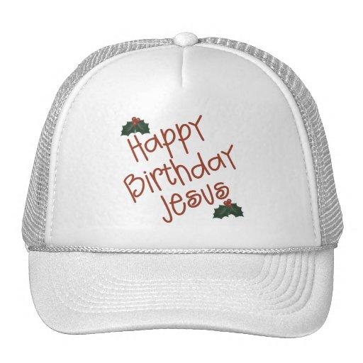 Happy Birthday Jesus Christmas Gift Hats
