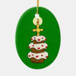 Happy Birthday Jesus Christmas Tree Ornament