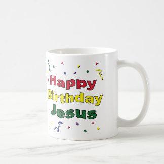 Happy Birthday Jesus Coffee Mug