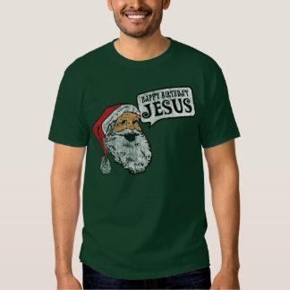 Happy  Birthday Jesus (Dark Shirts) T-shirt