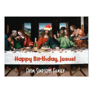 Happy Birthday, Jesus! Funny Christmas Invitation