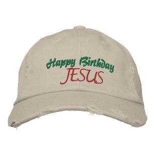 HAPPY BIRTHDAY JESUS Ladies Christmas Cap