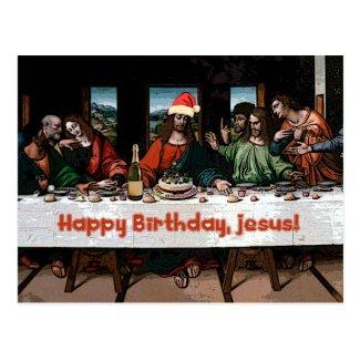 Happy Birthday, Jesus! Post Card