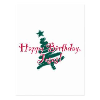 Happy Birthday Jesus Post Card