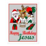 Happy Birthday Jesus Post Cards