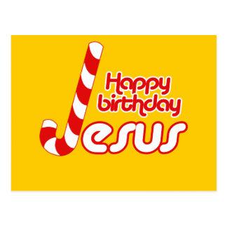 HAPPY BIRTHDAY JESUS POSTCARDS
