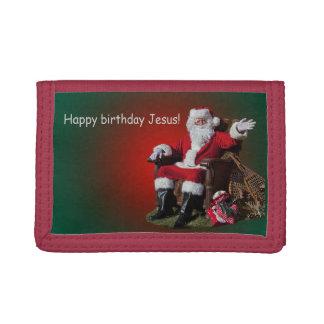 HAPPY BIRTHDAY JESUS TRI-FOLD WALLET
