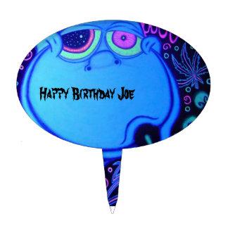 Happy Birthday Joe Cake Topper