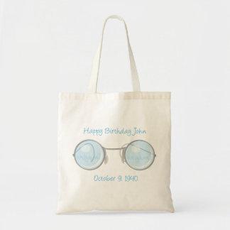 Happy Birthday John Canvas Bag
