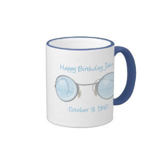 Happy Birthday John Coffee Mugs
