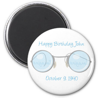 Happy Birthday John Fridge Magnet