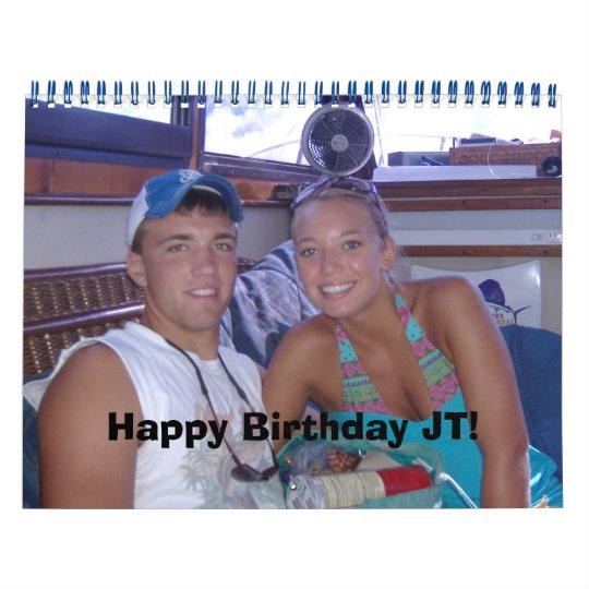 Happy Birthday JT! Calendar