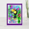 Happy Birthday Jungle style 001 card