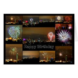 Happy Birthday! Kansas City Fireworks Cards